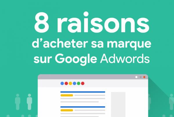 les 8 raisons d'acheter sa propre marque sur Google Adwords