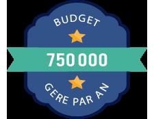 Gestion de 750K de budget media