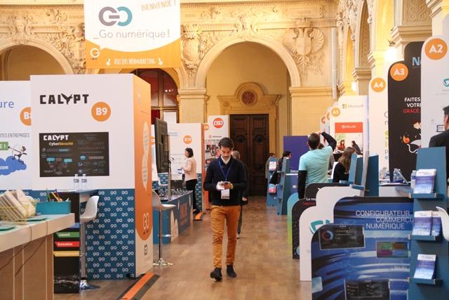 Salon Go numérique, le 20 juin 2017 à la CCI de Lyon