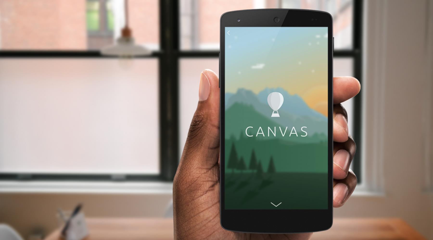 Découvrez Canvas, le format publicitaire très immersif de Facebook sur mobile